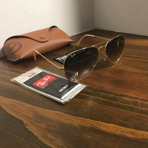 Ray-Ban Glasses RB3025 62mm Grey Gradient Lens